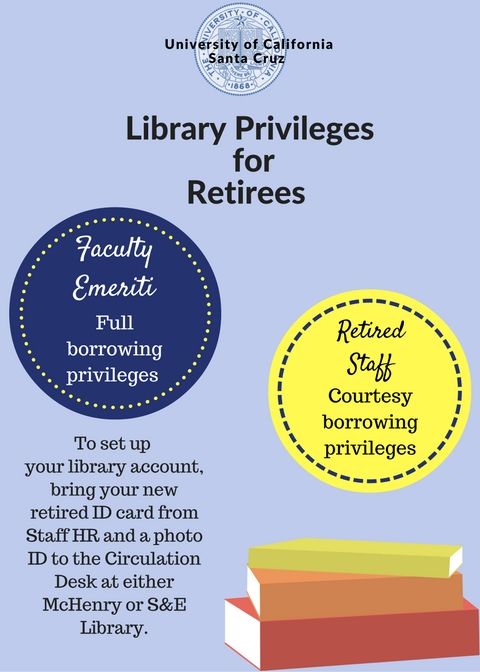 Retiree Library Privileges